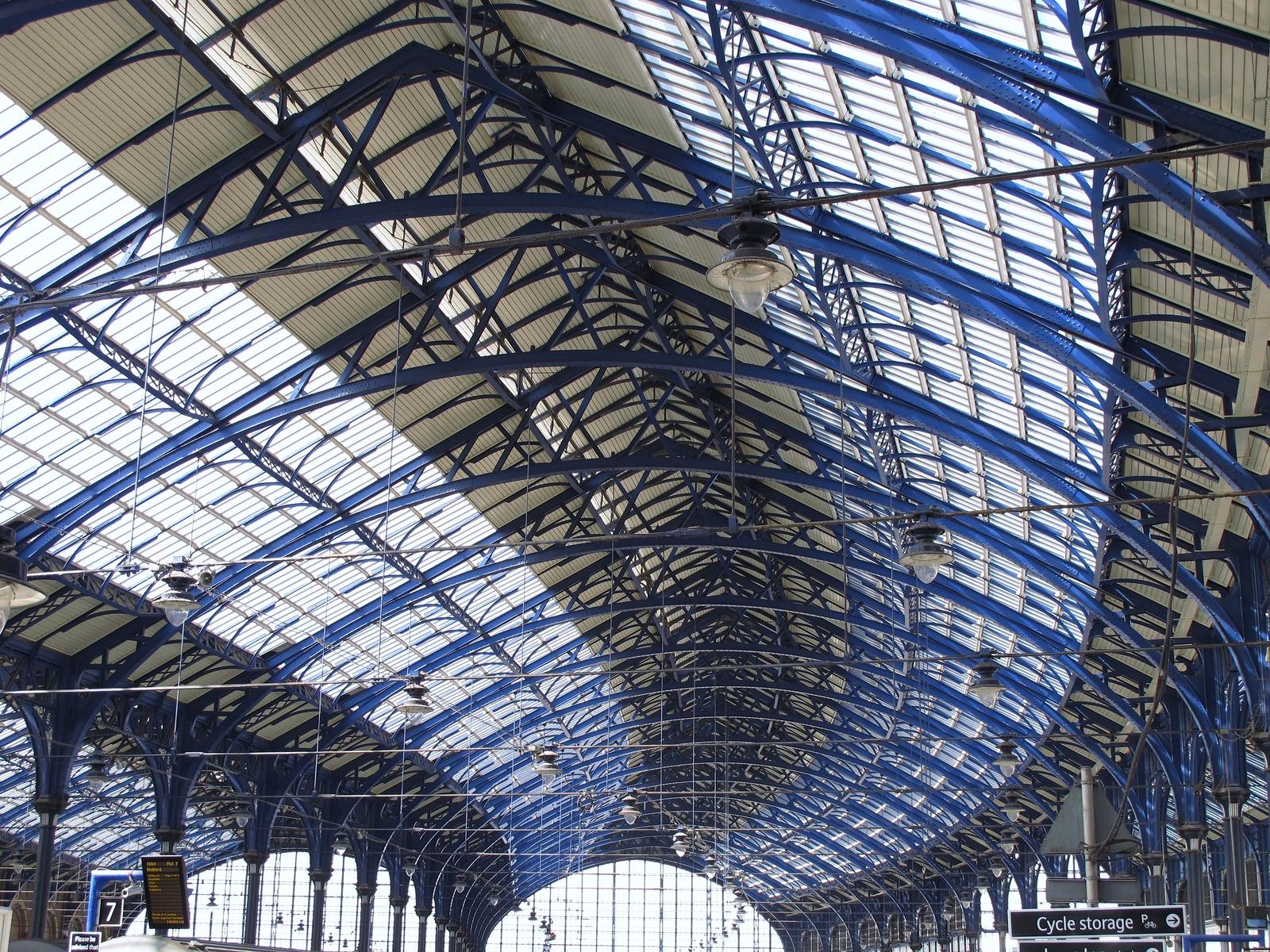 163 14 5 Million Repairs To Carlisle Station Roof Near Finish