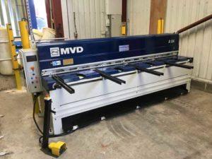 A brand new MVD mechanical guillotine